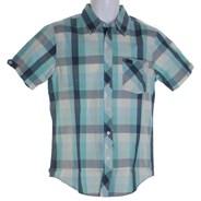 Sedona Plaid Bourgeois Blue S/S Shirt