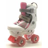 Orion White/Pink Quad Roller Skates