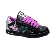 Needle 2 Black/Purple/Silver Womens Shoe