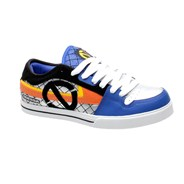 Flight Blue/Silver/Orange Shoe