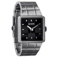 The Quatro Watch - Antique Silver/Black - SALE - 40% Off