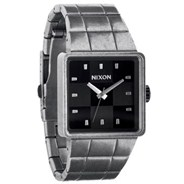 The Quatro Watch - Antique Silver/Black - SALE - 40% Off