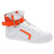 Convert White/Orange Shoe
