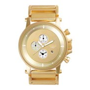 Plexi Polished Gold /Gold/Gold Mirror Men's Watch PLE024