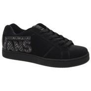 Widow (Checkervans) Black/Black Kids Shoe DE33UB