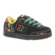 Basic SE Rasta Black Kids Shoe