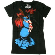 Frostbite the Snowman S/S Tee - Black