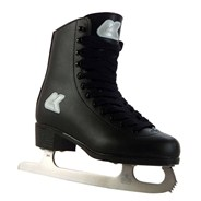 Fashion Black Wide Fit Ice Skates