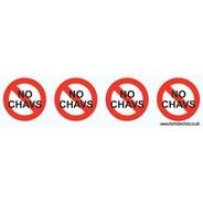 Skate Sticker Tape 'No Chavs'