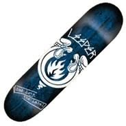 God Save Leeper 7.75inch Skateboard Deck