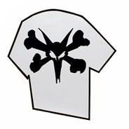 Bones Ped Ramp Sticker