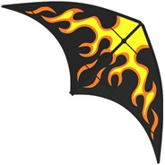 Yukon Fire Stunt Kite