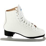 Deluxe Leather Ladies Figure Ice Skates