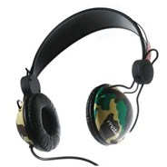 Domepiece Headphones - Camo/Black
