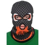 Black Serpant Reversible Face Mask