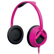 Trooper Headphones - Magenta/Black