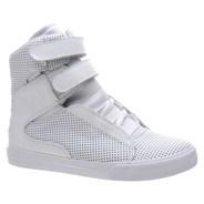 Society White Perf Shoe