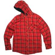 Maze Hooded L/S Shirt