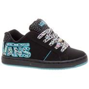 Widow (Confetti Check) Black/Scuba Kids Shoe HC60T7