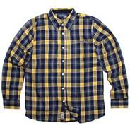 Industrial Navy Long Sleeve Shirt
