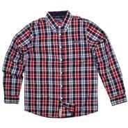Industrial Dusty Blue Long Sleeve Shirt