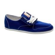 Topaz Blue Canvas Shoe