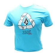 Reskate V.Co-Logical S/S T-Shirt - Cyan