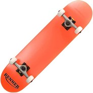 Z Series Orange Complete Skateboard