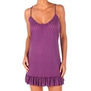 Lightning Bolt Purple Dress