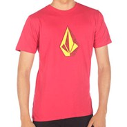 Distoned SS Slim Berry Red S/S T-Shirt
