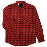 Fun Bags Woven Plaid L/S Shirt