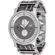 Plexi Acetate Silver/Silver/Grey/White Men's Watch PLA012