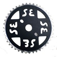 SE Chainring Black