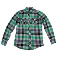 Mercury Lounge Washed Purple L/S Shirt