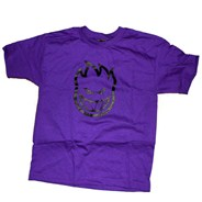Bighead Youths S/S T-Shirt - Purple/Black