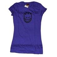 Bighead Girls S/S Tee - Purple/Black