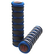 Black/Blue Zig Zag Replacement Scooter Handlebar Grips