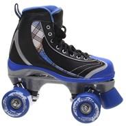 Street Fighter Blue Quad Roller Skates