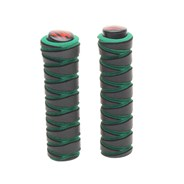 Black/Green Zig Zag Replacement Scooter Handlebar Grips