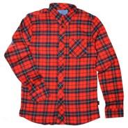 Hsu Tartain Blue L/S Woven Shirt