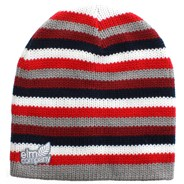 Multistripe Beanie - Red
