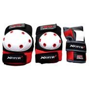 X-Fitter Kids 3 Pad Set - White/Red