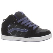 Skink Mid Black/Patriot Blue Kids Shoe IPD1KS