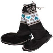 Slush Cup Onyx Womens Slippers LEG158