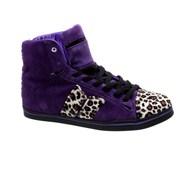 Nolan Purple/Leopard Cassadee Pope Womens Shoe
