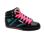 Mezzanine De Lis Black/Teal/Coral Womens Shoe
