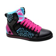 Natalie Black/Sky/Pink Womens Shoe