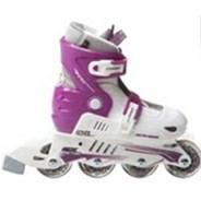 MX-S780 White/Lilac Childrens Inline Skate