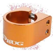 Pro Series Orange Double Collar Scooter Clamp