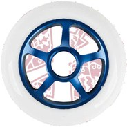 Pro Series Extreme Metal Core 100mm Scooter Wheel -  Blue/White